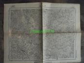 民国地图39【1948年】湖北省京山县地形图