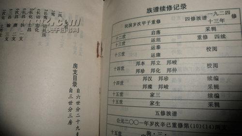 【图】王氏族谱_王氏族谱图片