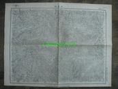 民国地图53【1948年】湖北省宣恩县咸丰县地形图~~有标记