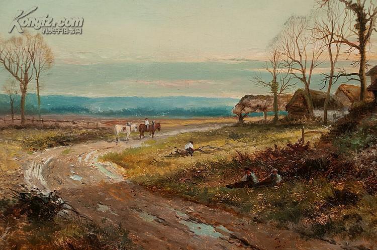 19世纪英国著名风景画家dan