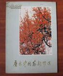 文革红色经典画册: 广东中国画新作选