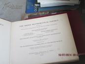 莱因德数学纸草书(Rhind Mathematical Papyrus 8开民国精装的vol ii . photographs .transcription 包含100多页的图版。稀缺本5226