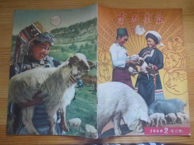 云南画报。。。1960年2(总第12期)。.……画报126