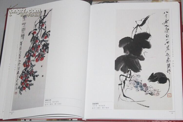 中国现代十大名画家画集图片