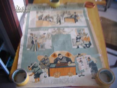 破除封建迷信展览挂图 5 老版2开