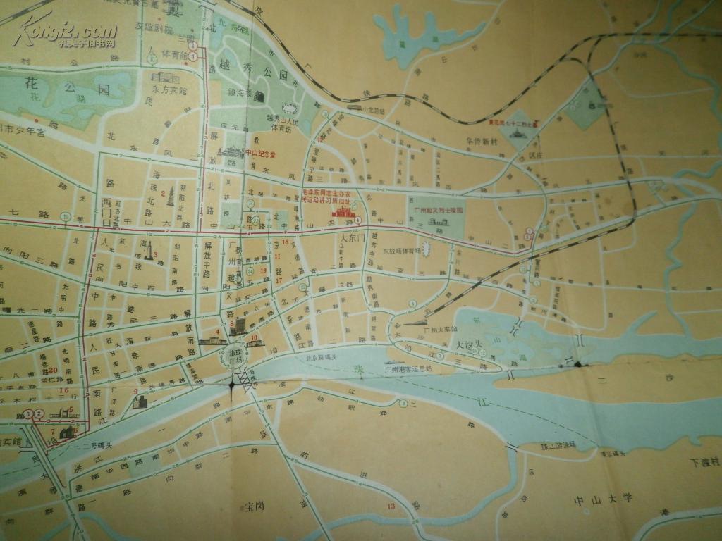 1975 天津地图