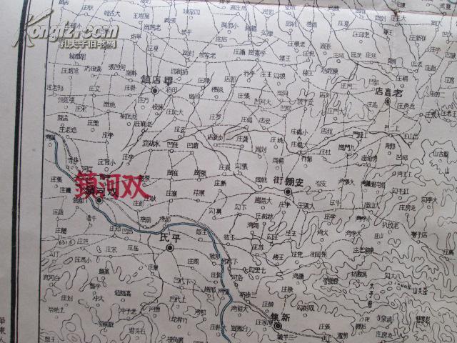 泌阳县彩版地图