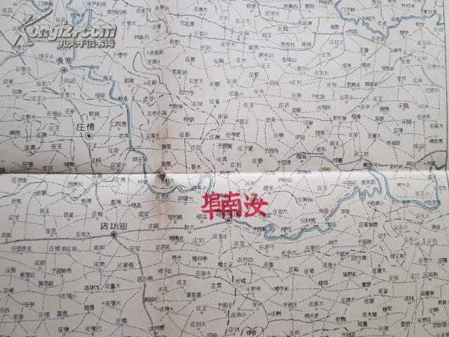正阳县彩版地图
