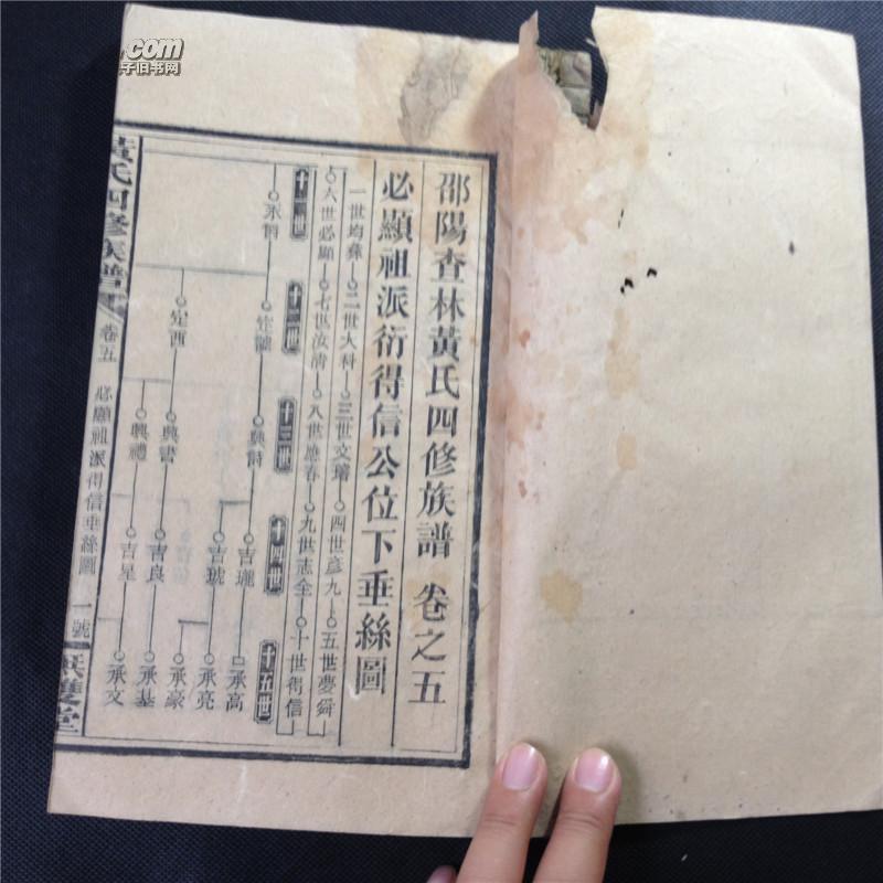 黄氏族谱字辈大全集图片