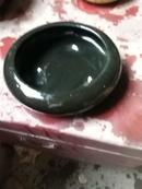 黑釉三足笔洗