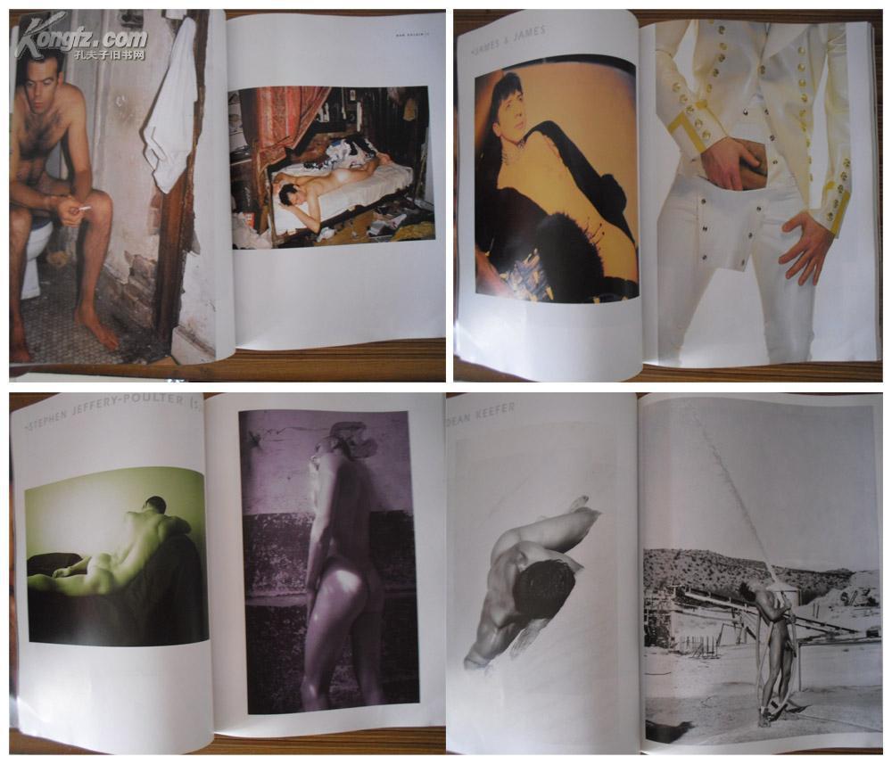 色情女作家的著作,《大师摄影的男性裸体艺术》,大16开,1999年美国版