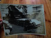5906:民国启昌照相上海纺织印染厂车间机器照片一张