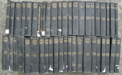beilsteins handbuch der organischen chemie(贝尔斯坦有机化学手册 共45册)德文原版书