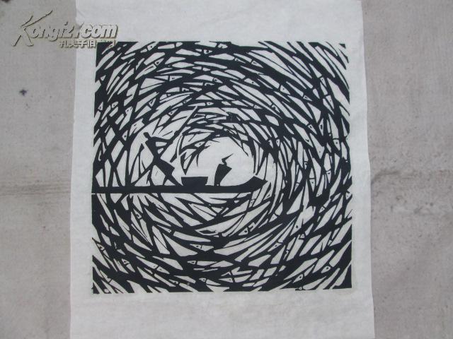 黑白木刻版画 拍品编号:16364940