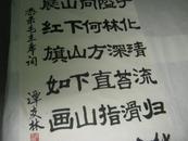 谭友林书法