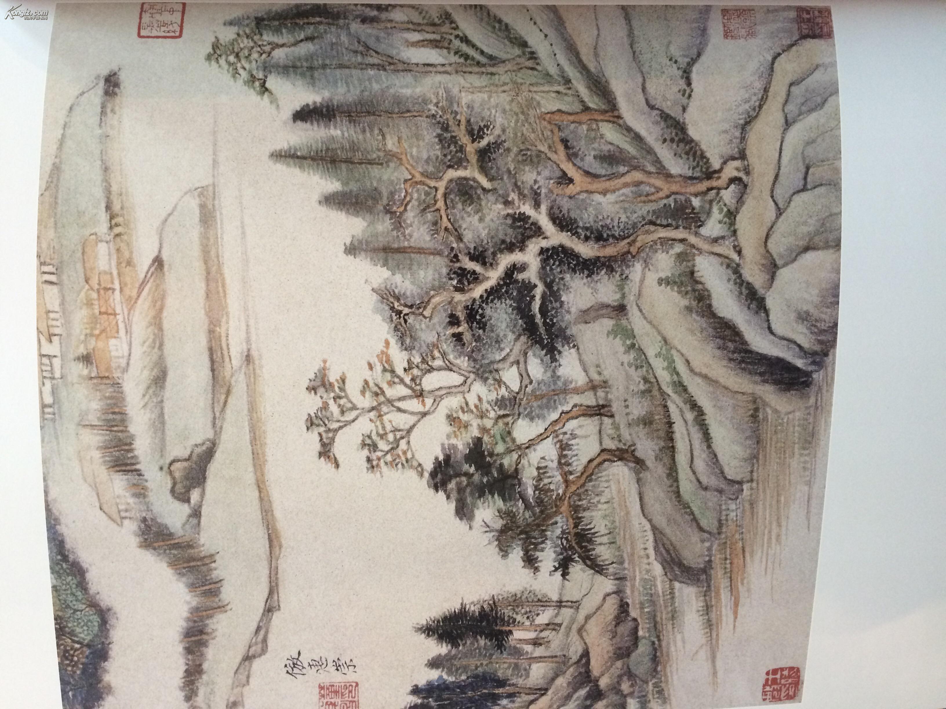 游目骋怀 江苏历代中国画名家精品集古代卷 东晋元明清图片
