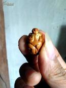橄榄核雕--众生平等(四人一兽组合)