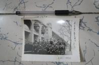 文革老照片  军民团结如一人 试看天下谁能敌 国棉一厂保卫组欢送军宣队合影