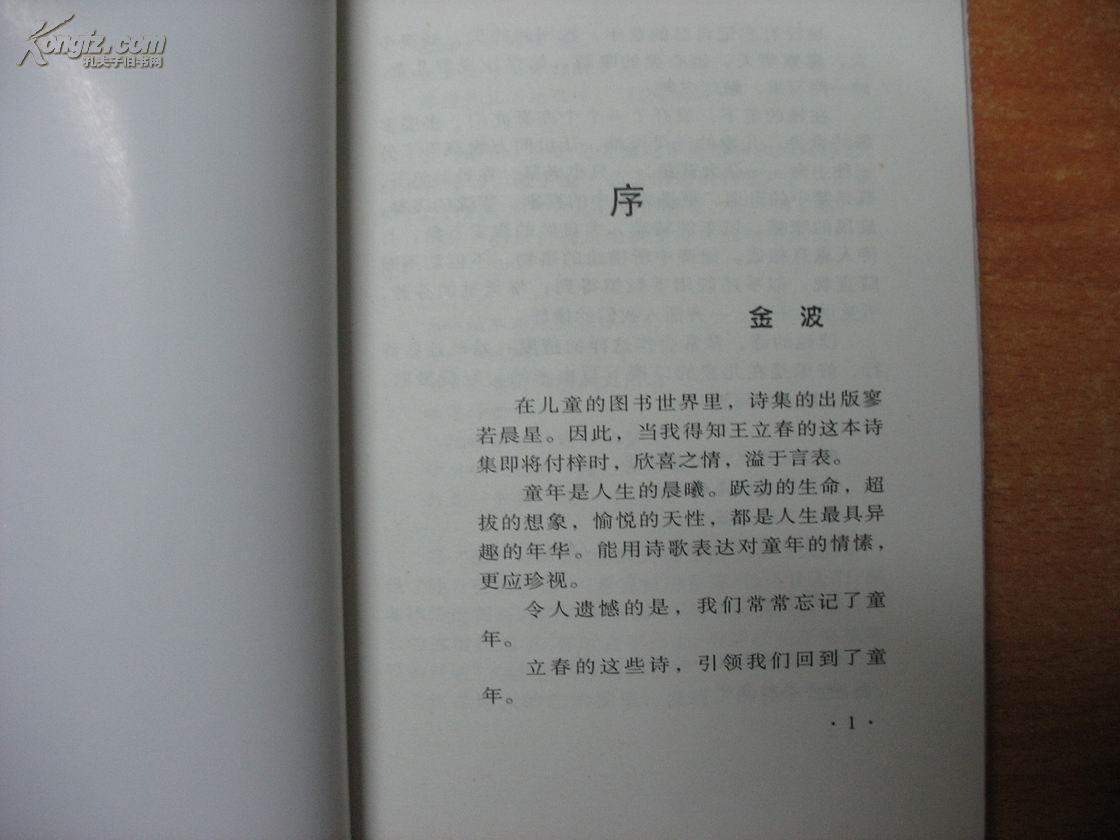 【图】骑扁马的扁人(儿童诗集)
