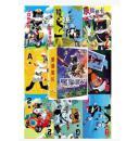 【全新】《中国动画·黑猫警长清晰版》扑克,全套54张大全,厚纸全彩色,正版,带塑料盒一个+彩色外套一个