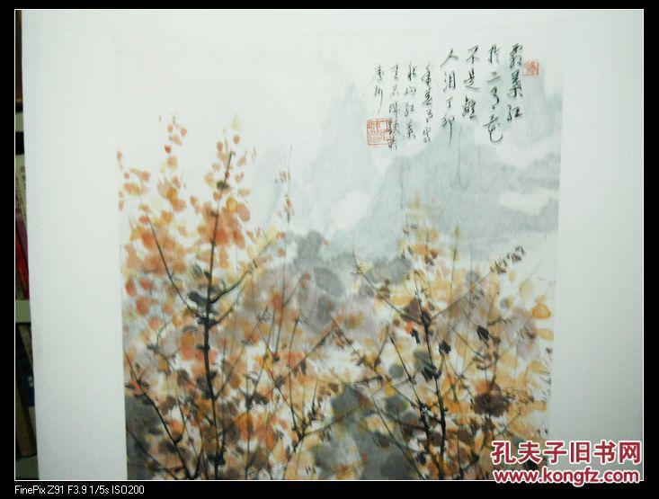安徽著名老画家 王石城 已裱立轴图片