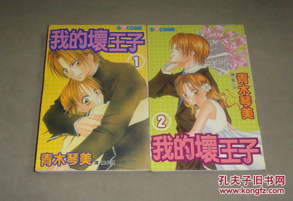 我的坏王子 全2册完结 少女漫画
