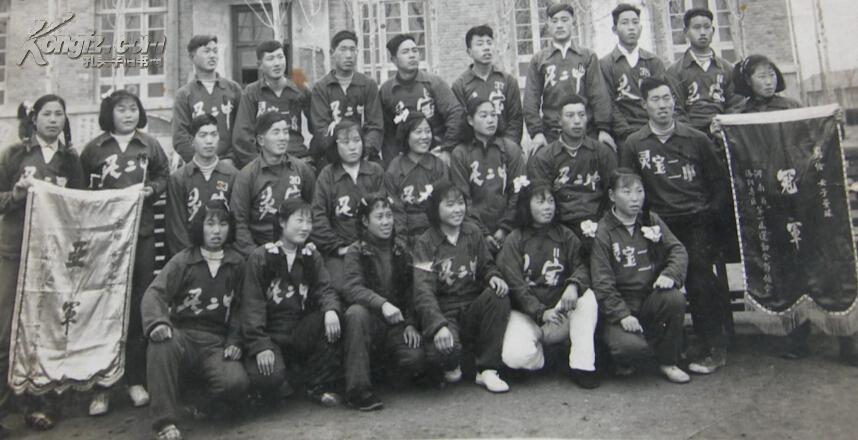 老照片(体育运动收藏):50专区河南省洛阳滑板第一届v专区大河南加航年代图片