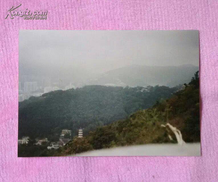 """香港""""山,塔,高楼""""风景老照片5寸3张【80年代末90年代初】90年左右拍摄"""