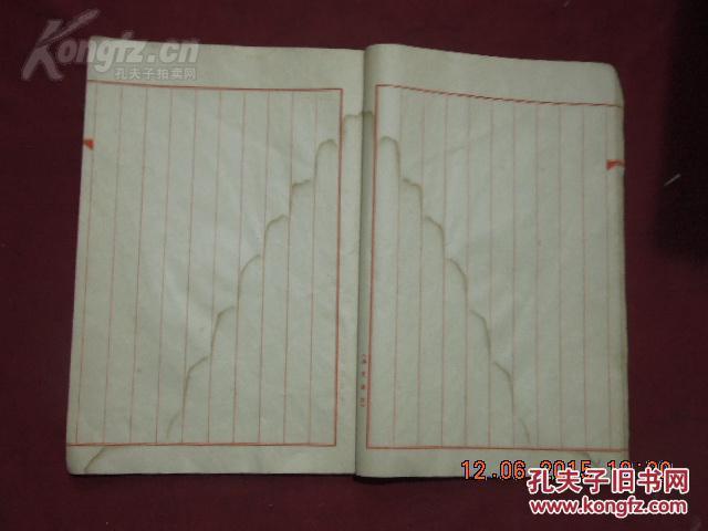 民国空白信纸一本 拍品编号:18506552图片