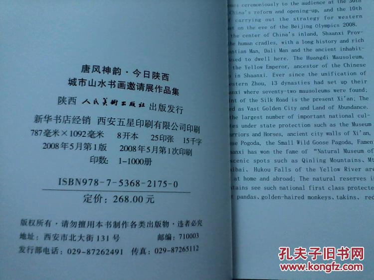 8开172页陕西人民美术出版社【详看实拍图目录图片