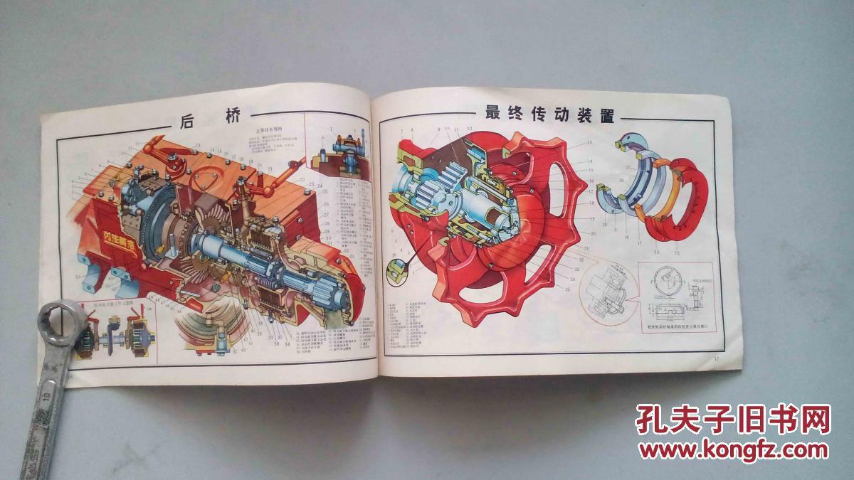 东方红-75拖拉机结构图册