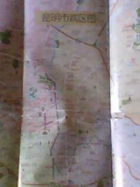 昆明市城区图 昆明地图