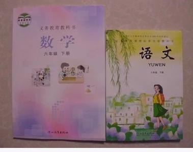 2015冀教版河北教育版小学6六年级下册语文数学书课本教材全套2本图片