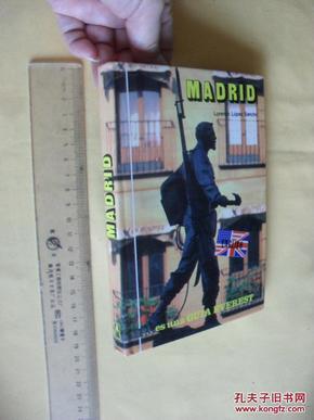 英文原版  Madrid  by  Lorenzo Lopez Sancho    铜版纸 精印