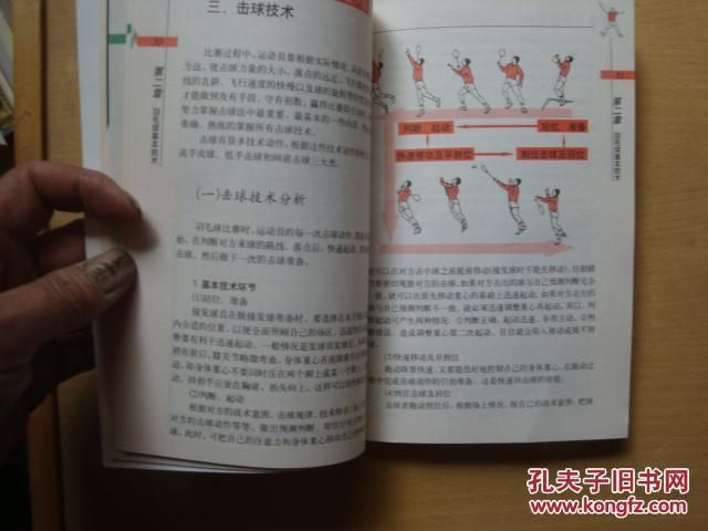 羽毛球技巧图解 pdf 图片合集