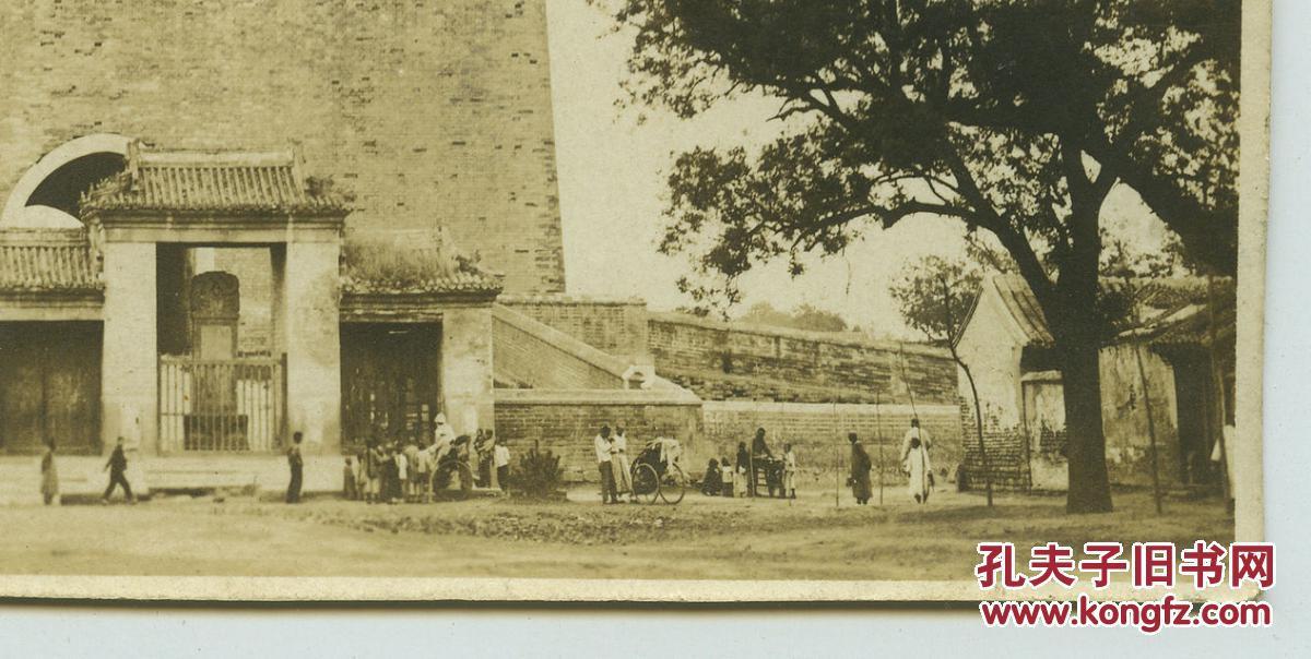 民国1925年北京钟楼建筑与其下的百姓,90年前真实场景