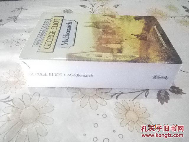 华兹华斯经典乔治爱略特米德【WORDSWORTH CLASSICS GEORGE ELIOT MIDDLEMARCH】