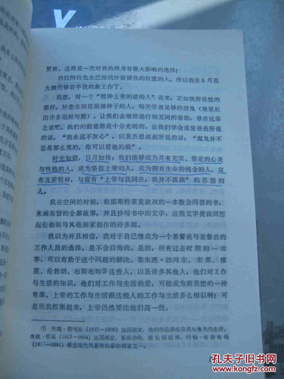 亲爱的提奥——梵高书信体自传图片