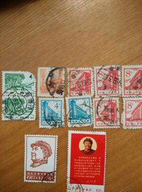 文革时期~老邮票一堆