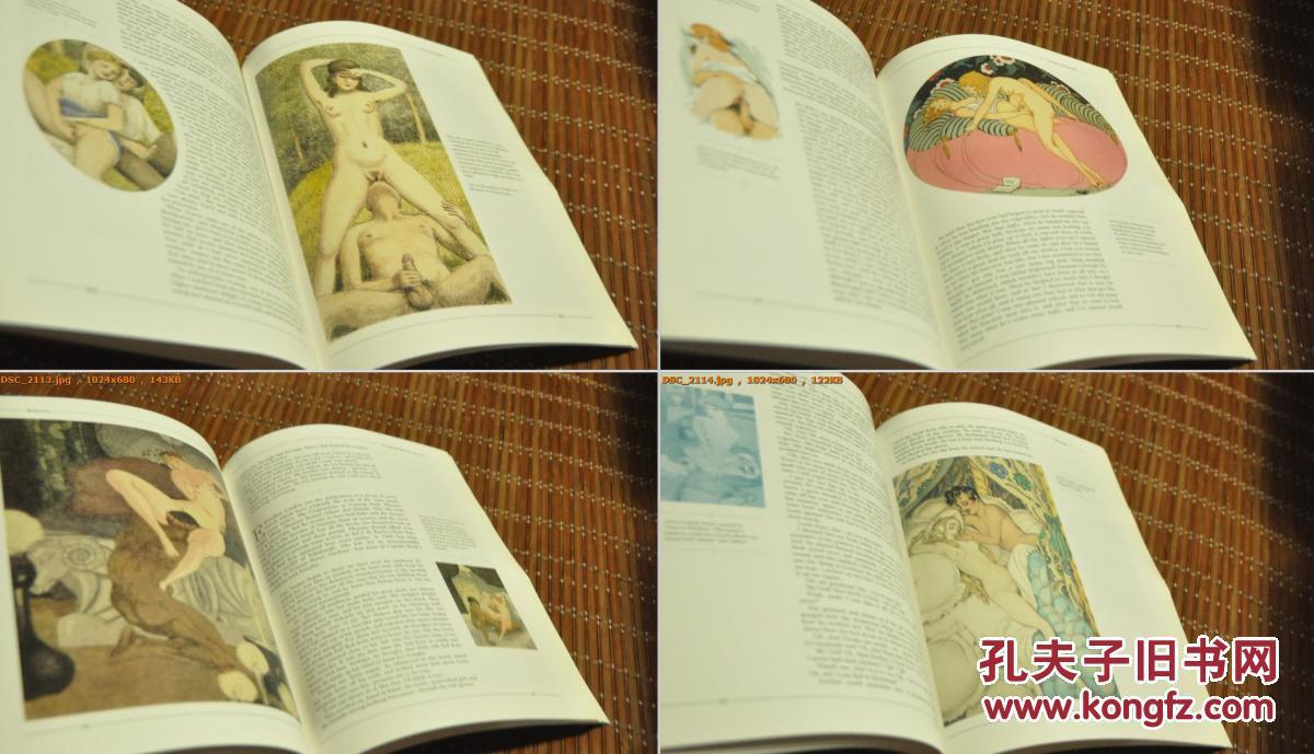 搜性情色文学小�_绝版【 eroticaⅠ Ⅱ Ⅲ 情色艺术与文学插图选 三卷合售】涵盖油画