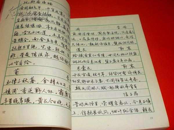 中学生钢笔行书字帖(私藏书,近9品,曹宝麟书写,值得收藏)图片