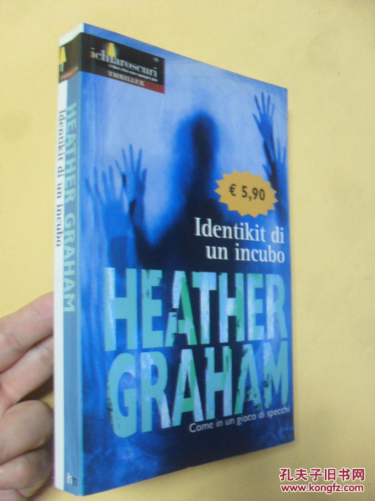 意大利文原版  Identikit di un incubo     Heather Graham