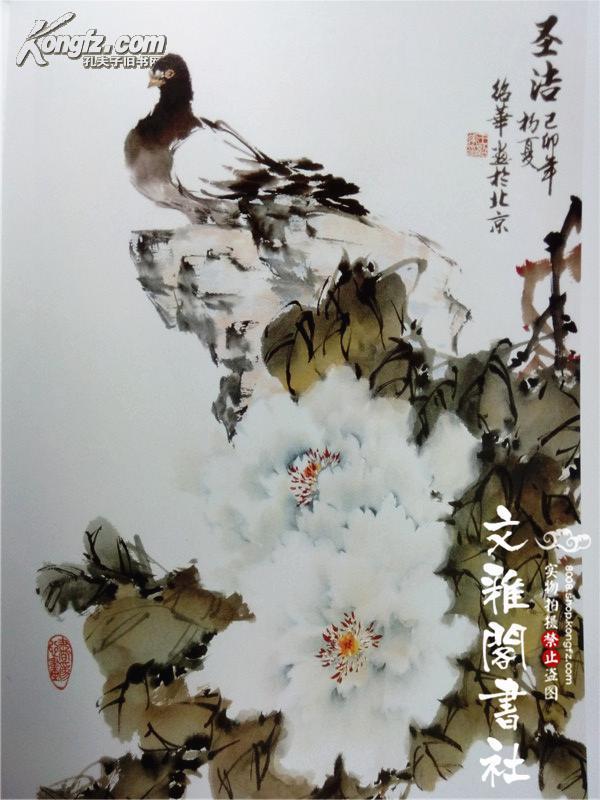 名家王绍华写意牡丹 跟名家学技法/国画花卉画法步骤