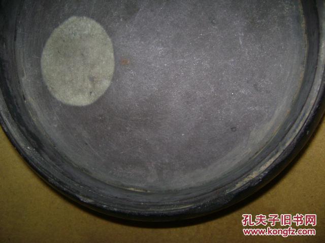 正宗紫端石,圆形砚台【284】