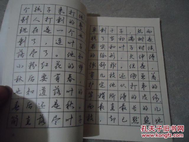 钢笔行书实用字帖图片