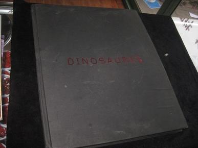 Dinosaures 恐龙 【法文原版 铜版纸彩色图册】大4开 P1
