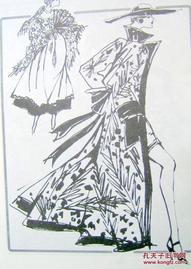 【图】美国时装画技法