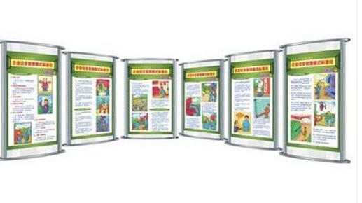 企业安全生产标准化系列宣教展板