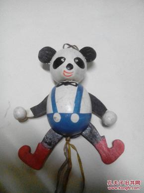 80年代提线偶玩具熊猫