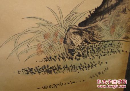 潘天寿 国画 名家 人物山水画
